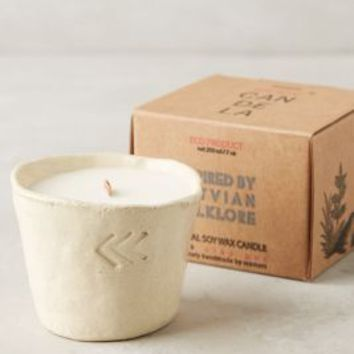 Munio Candela Clay Pot Candle