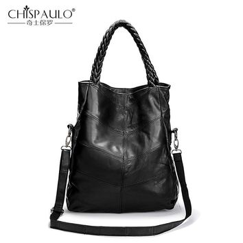 Genuine Leather Sheepskin Shoulder Bag Handbags