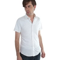 Ben Sherman William Short Sleeve Button Up Mens Shirt - Available in Black and White!