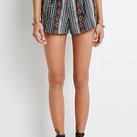 Southwestern-Patterned Shorts