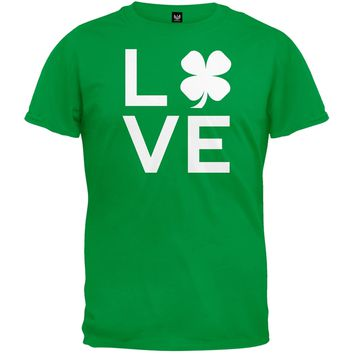 Shamrock Love Green T-Shirt