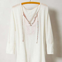 Anthropologie - Slubby Lace-Up Dolman