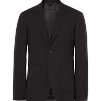 Raf Simons - Blue Slim-Fit Virgin Wool Blazer