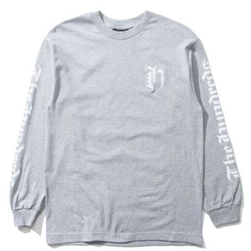 The Hundreds - H Crest Long Sleeve - Athletic Heather