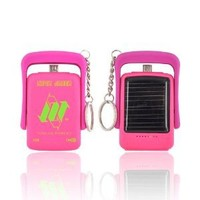 For Samsung Epic Touch 4G Pink OEM Neon Green Lil' Piggy Power Bank Solar Powered Charger 59485