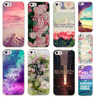 Case For iPhone 4S 5 5S 5C 6 6S 6Plus For Samsung Galaxy Soft Silicon Beautiful Rose Flower Sky City Patterns Case High Quality