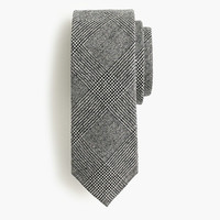 J.Crew Mens American Wool Tie In Glen Plaid