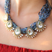 Fabulous Fortune Statement Necklace