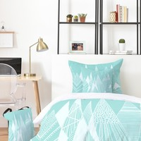 Viviana Gonzalez Patterns in the mountains 02 Bed In A Bag   Deny Designs Home Accessories