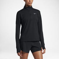 The Nike Dry Element Women's Long Sleeve Running Top.