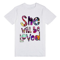 She Will Be Loved (Maroon 5 Shirt)