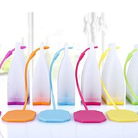 ME.FAN™ Silicone Reusable Tea Bag Candy Silicone Tea Infuser Strainer Set - Genuine Premium Loose Leaf Infuser Set In Bright Colors (6 Set) - Best Gift in Home Or Offices