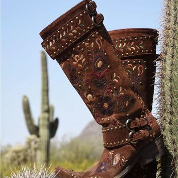 Double D Ranch Travelers & Traders Boot by Old Gringo