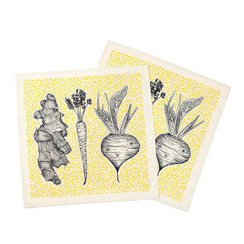 Wit Root Vegetable Napkins