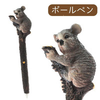Cute Animal Type Wooden Look Ballpoint Pen  (Koala)