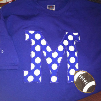School Football shirt with personalization