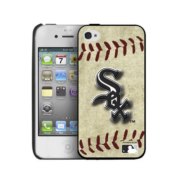 Iphone 44S Hard Cover Case Vintage Edition - Chicago White Sox