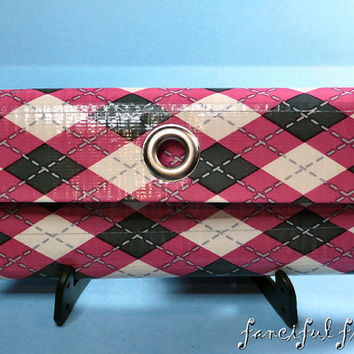 Women's Custom Deluxe Duct Tape Clutch Wallet - Style 1 TriFold