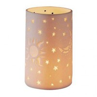 DonnieAnn Company Sun, Moon, Star Pillar Tealight Holder - SH98041 - Candles & Holders - Decorative Accents - Decor