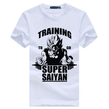 Super Saiyan T-Shirt Casual Dragon Ball Z