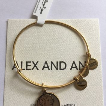 Disney Parks Star Wars Princess Leia Gold Bracelet Charm By Alex & Ani