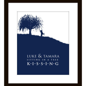 Kissing Tree Print