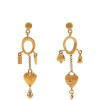 Collected Hearts drop earrings | Chloé | MATCHESFASHION.COM UK