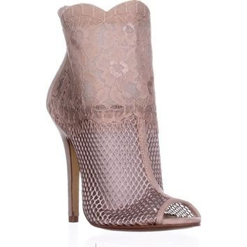 Chinese Laundry Jeopardy Ankle Booties, Nude, 6.5 US / 37 EU