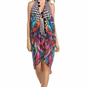 Agua Bendita Especie Tunic - Designer Cover Up