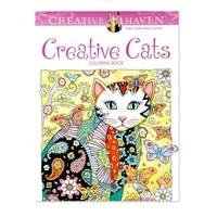 Creative Cats Coloring Adult Book