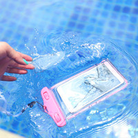 Universal soft clear PVC Waterproof phone case pouch for LG G5 G4 G3 G2 underwater bags pocket for iphone 6S 5s 5c se 4s 6 plus