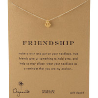 Friendship Anchor Pendant Necklace - Dogeared