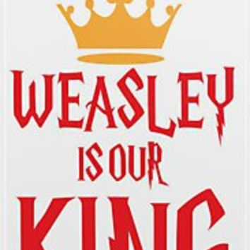 """Weasley is Our King"" iPhone & iPod Cases by Rosalind5 