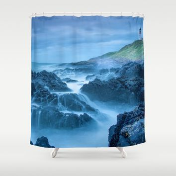 How Have You Been? Shower Curtain by Gallery One