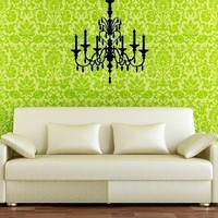 Wall Art Murals Decals StickersCrystal Chandelier by walldecors