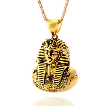 "14K Gold King Tut ""Stash"" Necklace"