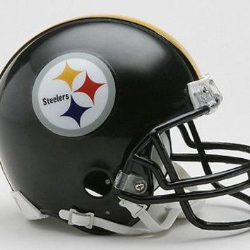 PITTSBURGH STEELERS RIDDELL NFL FOOTBALL MINI HELMET NEW IN RIDDELL BOX