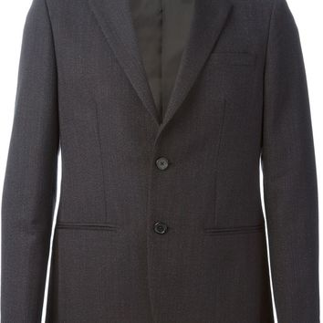 Raf Simons Sterling Ruby classic 2 Button Constructed Blazer