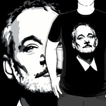 bill murray kcco custom black logo t-shirt tshirt