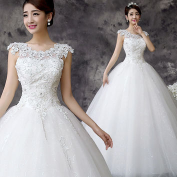 2015 latest hot sold wedding Dress Bridal Gown Custom