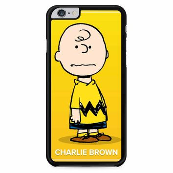 Charlie And Snoopy Brown Christmas iPhone 6 Plus / 6s Plus Case
