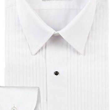Kyle Thomas Womens 14quot Pleat LAYDOWN Collar Tuxedo Shirt