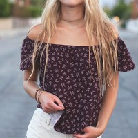 Kelly Off-The-Shoulder Top