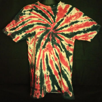 Hand Dyed 2 Color Tie Dye Shirt | Hanes Beefy-T 6.1oz Shirt Adult Adult (SHORT or LONG SLEEVE)