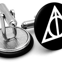 Harry Potter Deathly Hallows Cufflinks