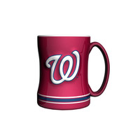 MLB Washington Nationals15 ounce Sculpted Coffee Mug