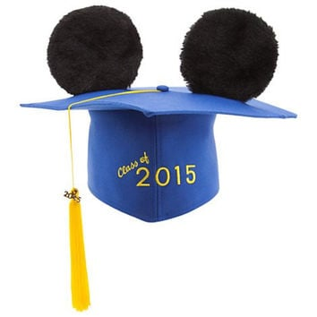 Mickey Mouse Ear Hat Graduation Cap 2015