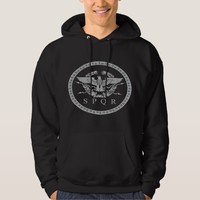 The Roman Empire Emblem Hoodie. Hoodie