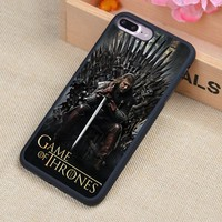 Game Of Throne Printed Phone Case Skin Shell For iPhone 6 6S Plus 7 7 Plus 5 5S 5C SE 4 4S Rubber Soft Cell Housing Cover