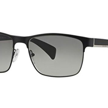 Prada Pr 51os Matte Black/gray Gradient Sunglasses